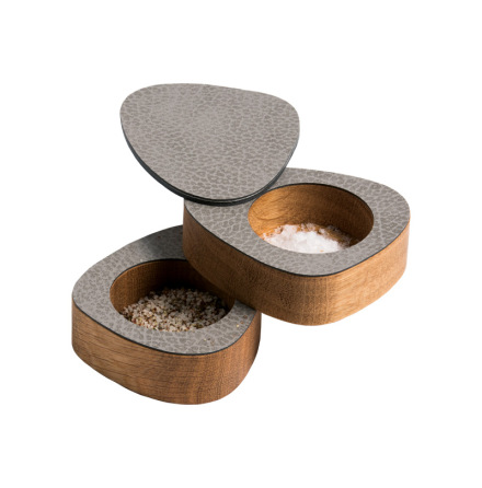 CURVE SALT & PEPPER, OAK nature / HIPPO anthracite-grey