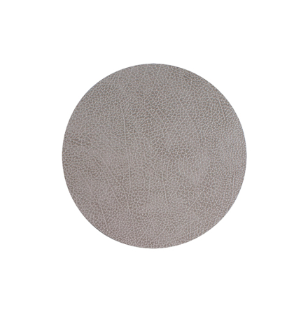 Glasunderlägg CIRCLE (D:10cm) HIPPO anthracite-grey