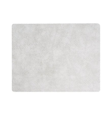 Bordsunderlägg SQUARE L (35X45CM) HIPPO white-grey