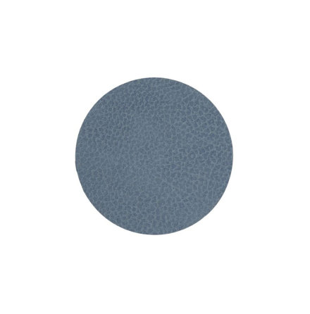 Glasunderlägg CIRCLE (D:10CM) HIPPO Light Blue