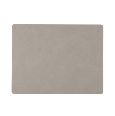 Bordsunderlägg SQUARE L (35X45CM) NUPO light grey