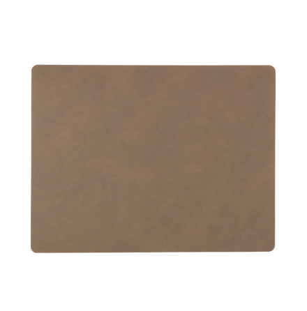 Bordsunderlägg SQUARE L (35X45CM) NUPO brown