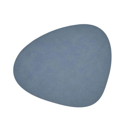 Bordsunderlägg CURVE L (37X44CM) HIPPO Light Blue