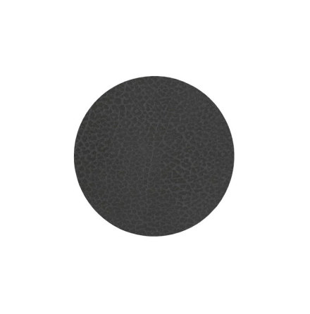 Glasunderlägg CIRCLE (D:10CM) HIPPO Black-Anthracite