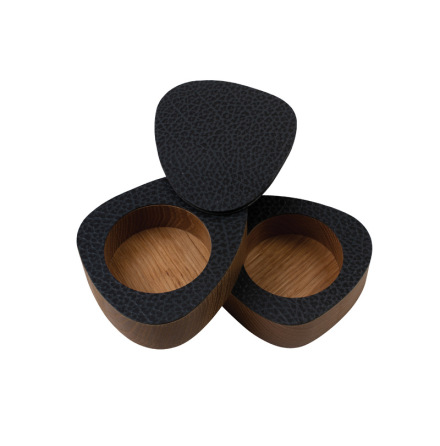 CURVE SALT&PEPPER, OAK nature / HIPPO Black-Anthracite