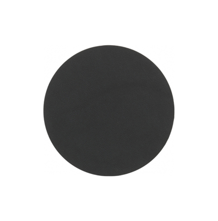 Glasunderlägg CIRCLE (D:10cm) NUPO black