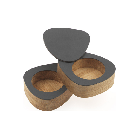 CURVE SALT&PEPPER, OAK nature / NUPO anthracite