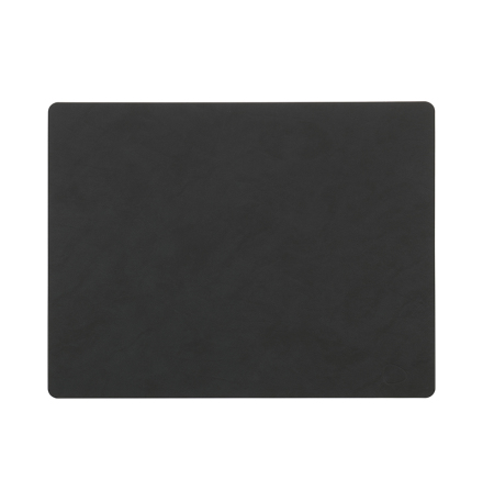 Bordsunderlägg SQUARE L (35X45CM) NUPO black