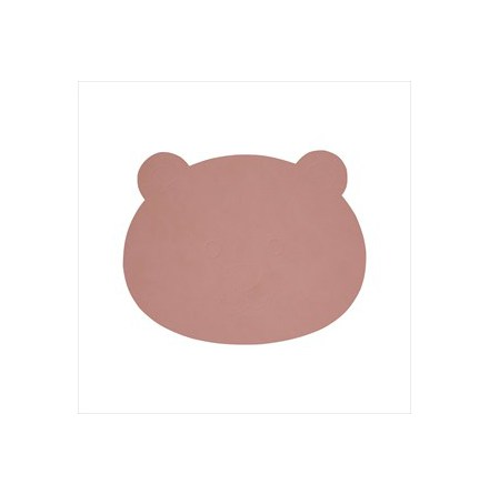 Bordstablett BEAR, 38x30 cm, NUPO rose
