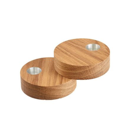 Ljusstake CIRCLE set/2 Ek