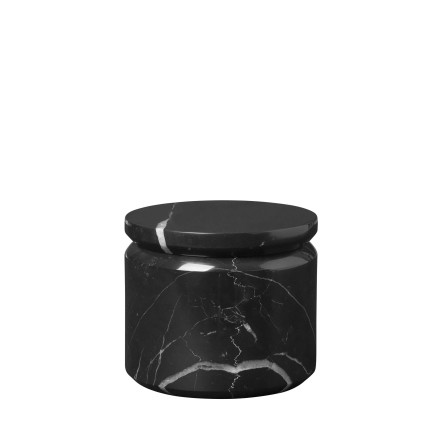 PESA Förvaringsbox, Marmor, Svart