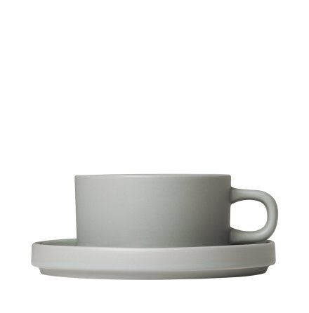 MIO,Set med 2 temuggar & fat, 4 pcs. Mirage Grey