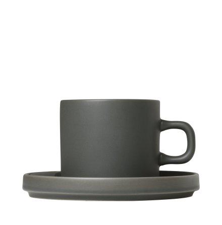 MIO,Set med 2 kaffemuggar & fat, 4 pcs. Agave Green
