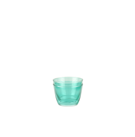 Double Up Glas Turkos (2-pack)