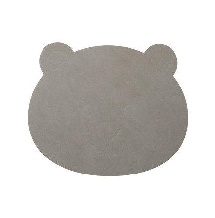 Bordsunderlägg 2-pack BEAR (38x30cm) NUPO light grey