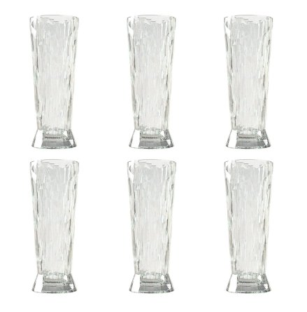CLUB NO. 11 Veteölglas 6-pack 500 ml Crystal clear
