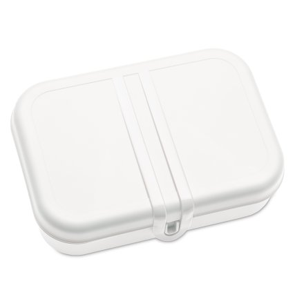 PASCAL L, Lunchlåda / Lunchbox, Vit 2-pack