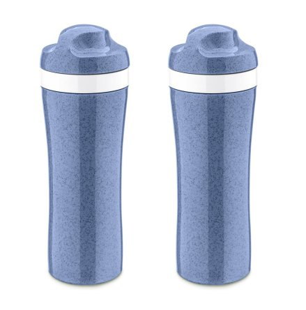2-pack OASE Vattenflaska 425ml, Organic Blue