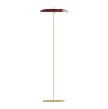 Asteria Golvlampa ruby red Ø 40 x 30 cm