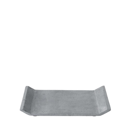 MOON Bricka 30x20 cm, Mörkgrå