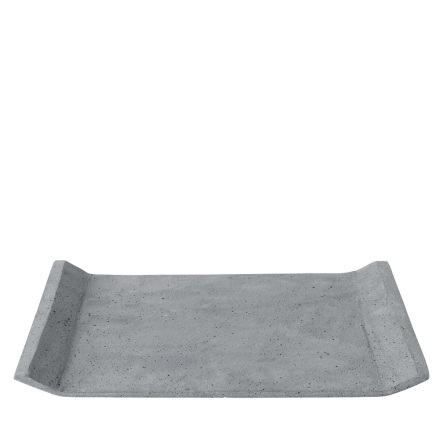 MOON Bricka 40x30 cm, Mörkgrå