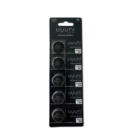 UYUNI - CR2032 Batteri 5-p , 3V, 240mAh