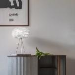 Fjäderlampa - UMAGE Eos mini, Vit