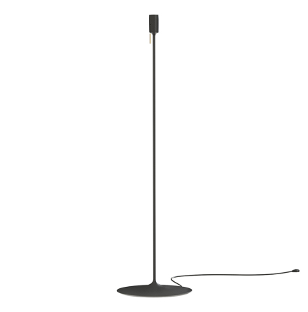 Champagne floor stand black H 140 cm