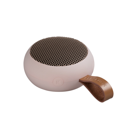 aGO Bluetooth Högtalare, Dusty Pink w. rose gold grill