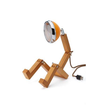 Mini Mr Wattson Bordslampa Ash - Mclaren Orange