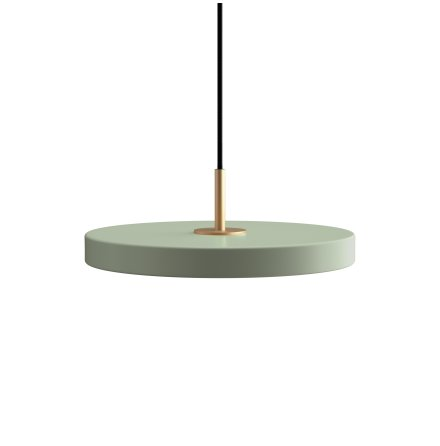 Asteria Mini nuance olive Ø 31 x 10,5 cm, 2.7m cordset