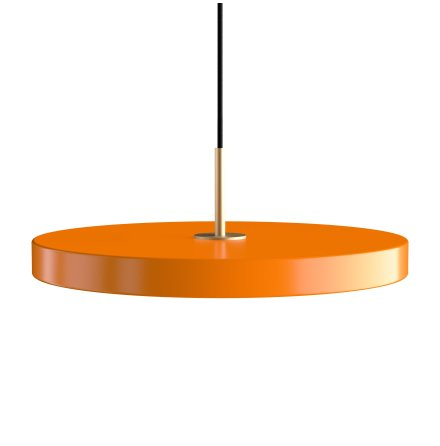 Asteria nuance orange Ø 43 x 4 cm, 2.7m cordset
