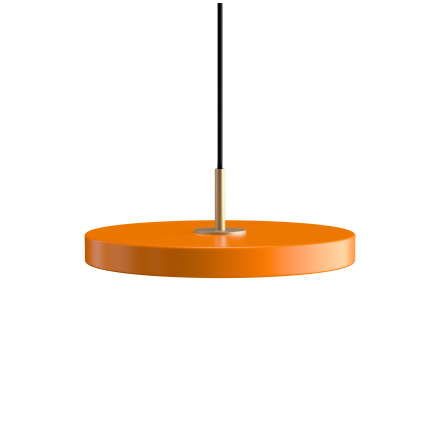 Asteria Mini nuance orange Ø 31 x 10,5 cm, 2.7m cordset