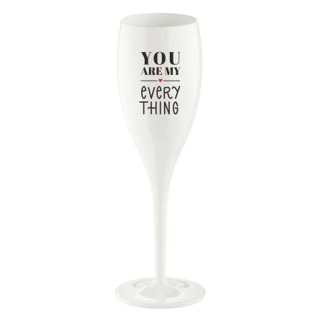 Champagneglas 100ml 6-pack YOU ARE MY EVERYTHING