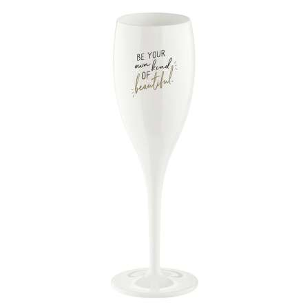 Champagneglas 100ml 6-pack BE YOUR OWN KIND OF BEAUTIFUL