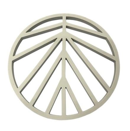 Peace Grytunderlägg Silikon Mångrå D16cm