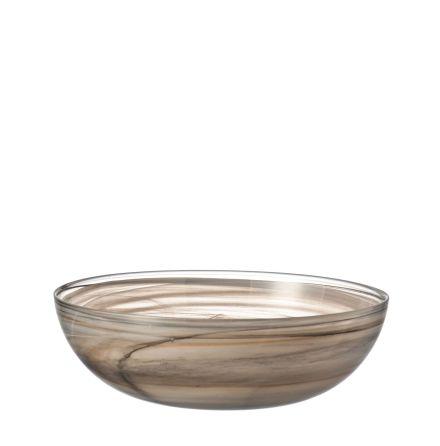 Bowl flat 28 beige Alabastro