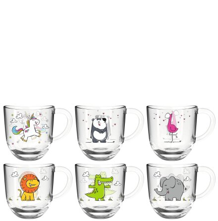 Bambini 6-pack Glas 280ml