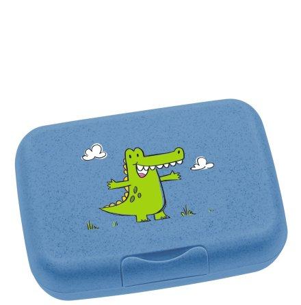 Bambini Lunchlåda Blå Krokodil