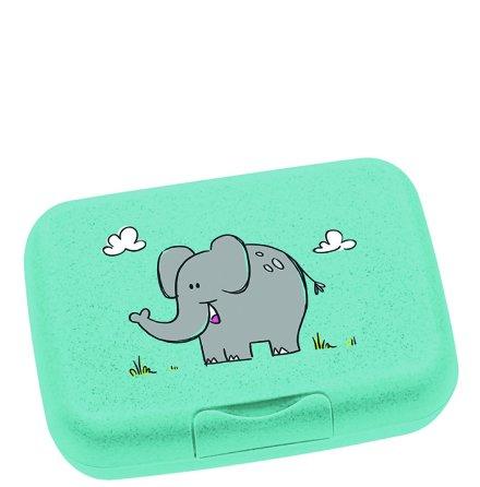 Bambini Lunchlåda Turkos Elefant