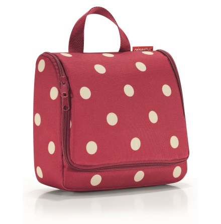 toiletbag ruby dots