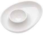Egg Cup,COLUMBUS,solid white
