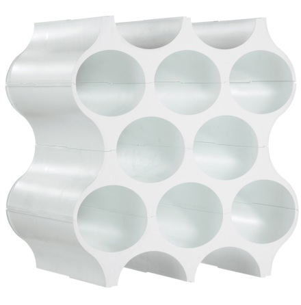 Bottle rack_SET-UPsolid white