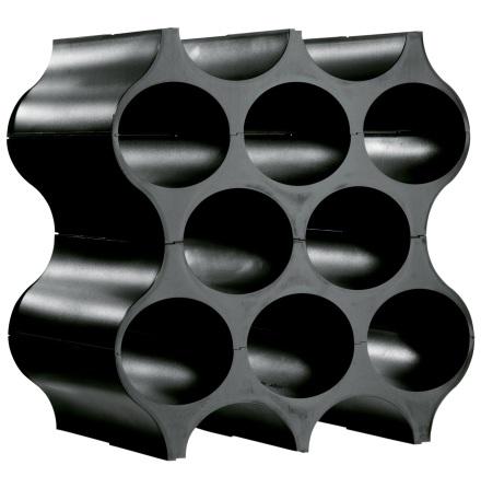 Bottle rack,SET-UP,solid black