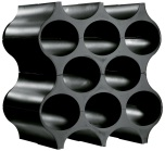 Bottle rack,SET-UP,solid black