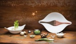 Salad bowl with servers 3l_LEA