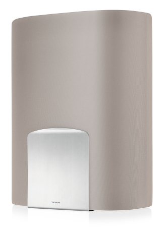 SPINTA,Laundry bin, taupe