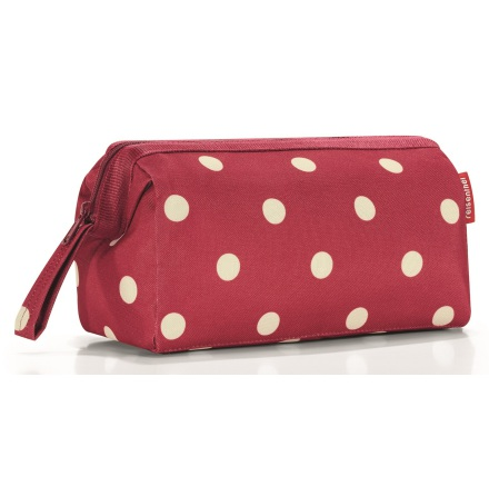 travelcosmetic ruby dots