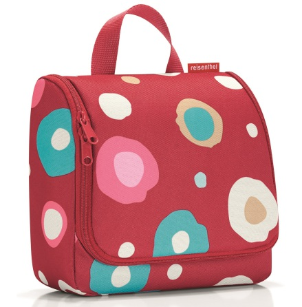 toiletbag XL funky dots 2