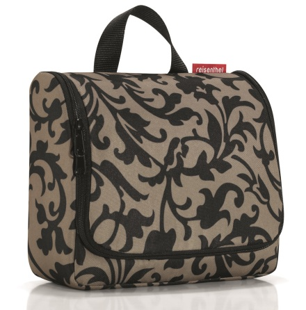 toiletbag XL baroque taupe